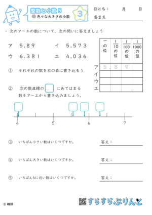 【03】色々な大きさの小数