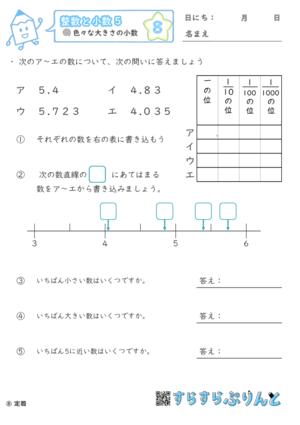 【08】色々な大きさの小数